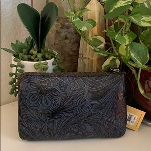 PATRICIA Nash Wristlet pouch 👝 Tobacco Fields
